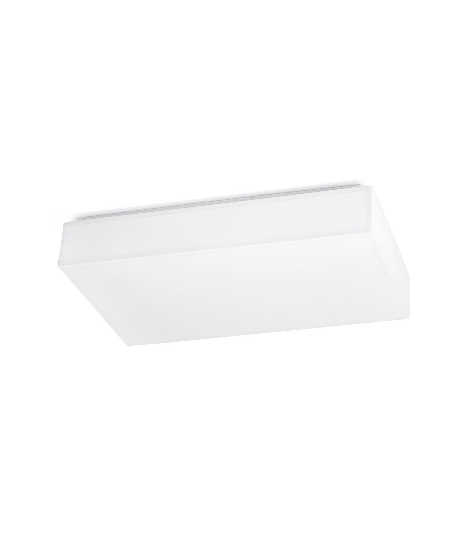 Plafón color blanco SILK-1 LED