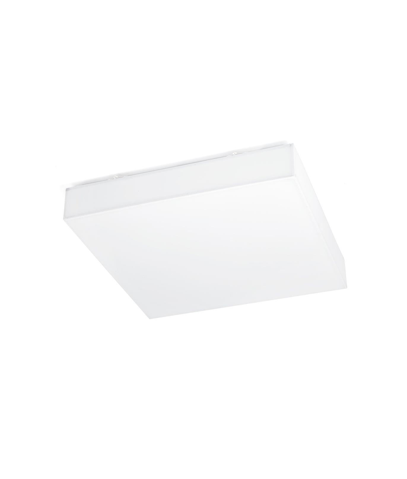 Plafón cuadrado blanco SILK-4 LED