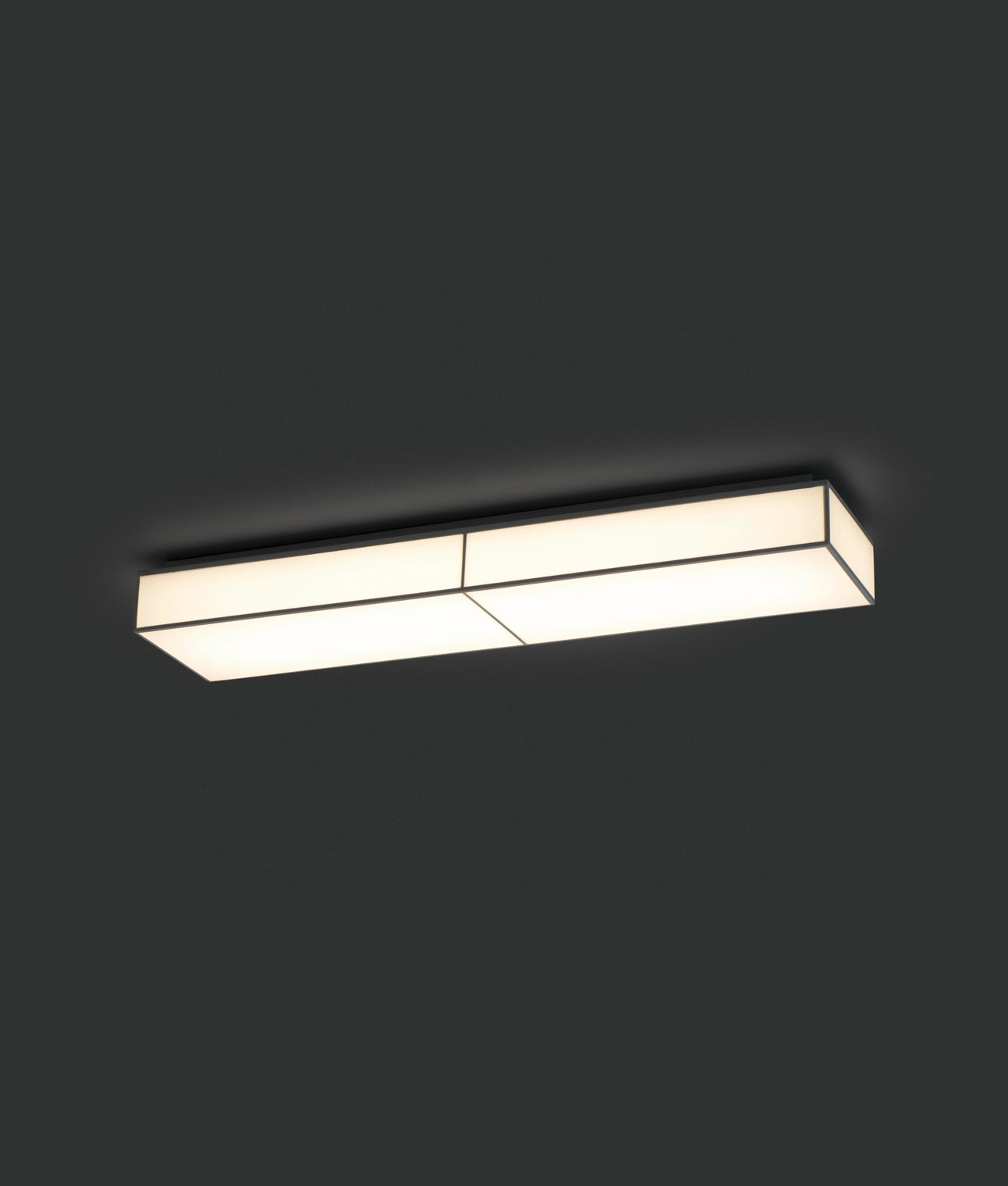 Plaf n de techo color blanco silk 2 led la casa de la - Lamparas de plafon techo ...