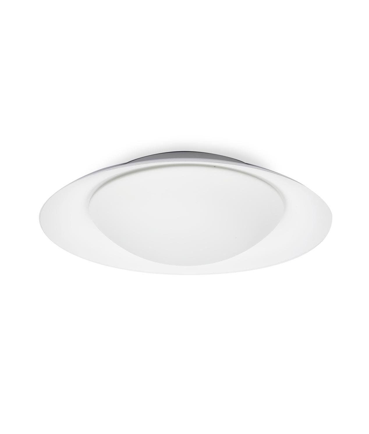 Plafón grande blanco 20W SIDE LED