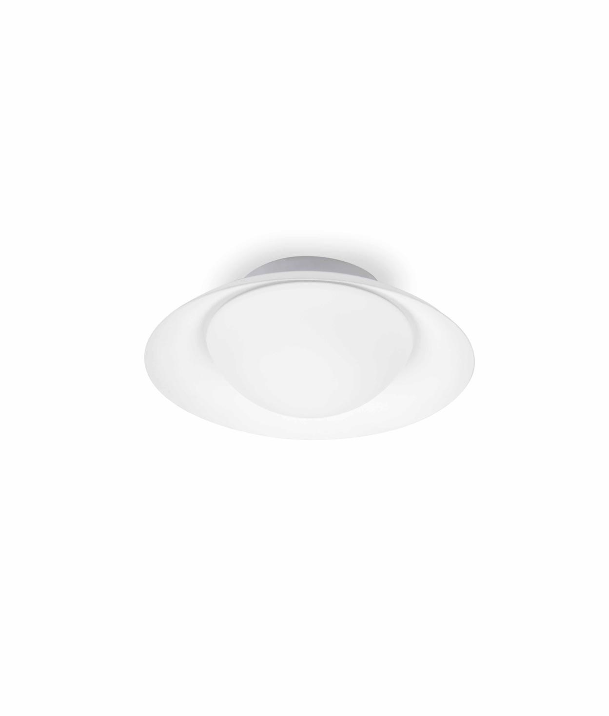 Plafón pequeño blanco SIDE LED