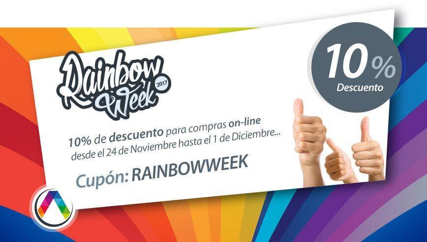 Usa tu cupón descuento de la Rainbow Week de La Casa de la Lámpara