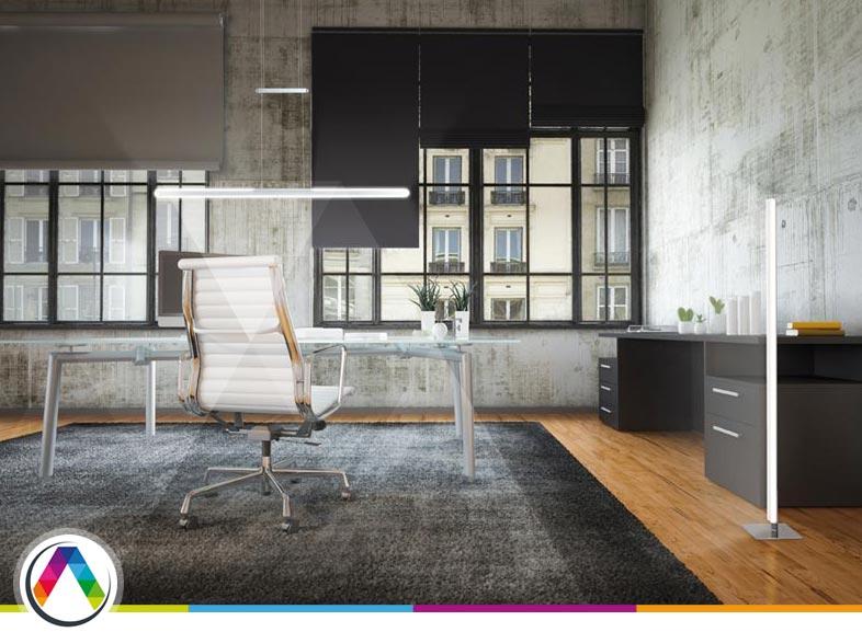Consejos en iluminación de oficinas en La Casa de la Lámpara