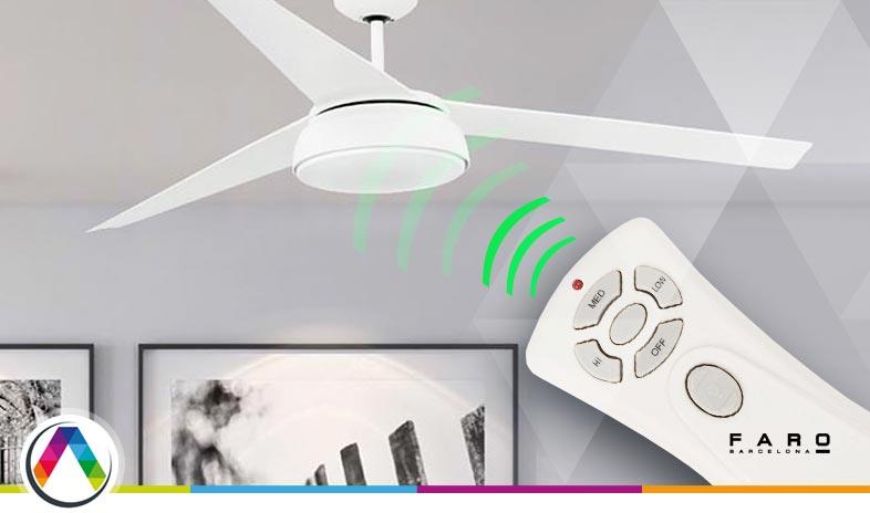 S.O.S El ventilador de techo se enciende solo ¡Solución! - La Casa de la Lámpara