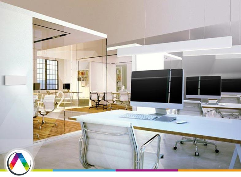 056de3fdcf8 Recomendaciones para iluminar una oficina ⋆ La Casa de la Lámpara