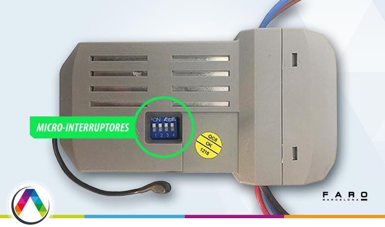 Micro-interruptores del receptor de los ventiladores Faro - La Casa de la Lámpara