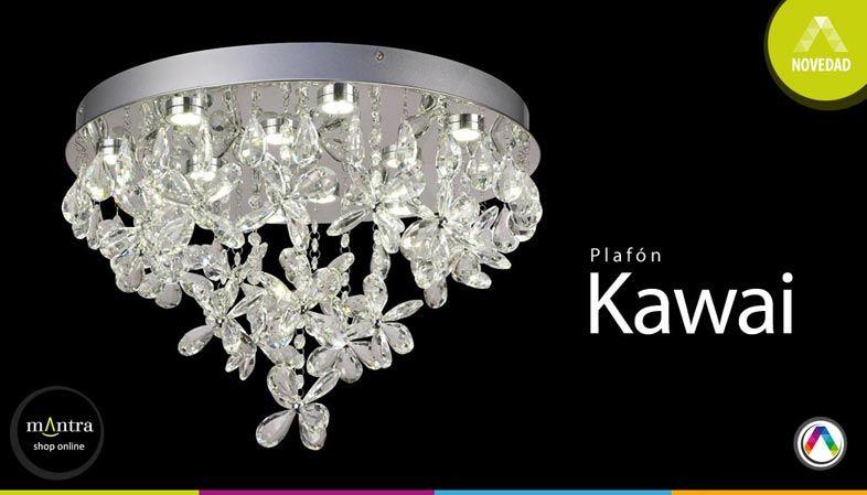 Top 5 Novedades en lámparas plafón de techo - Plafón Kawai - La Casa de la Lámpara