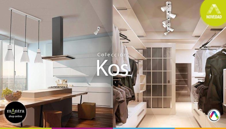 Top 5 Tendencias en iluminación interior con lámparas Mantra - Colección Kos - La Casa de la Lámpara