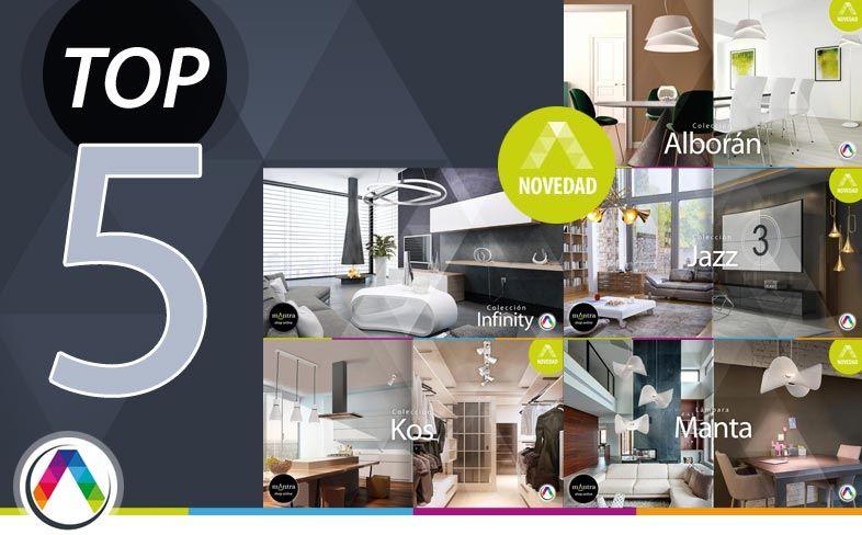 Top 5 Tendencias en iluminación interior con lámparas Mantra - La Casa de la Lámpara