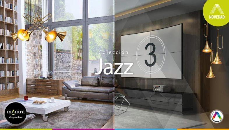 Top 5 Tendencias en iluminación interior con lámparas Mantra - Colección Jazz - La Casa de la Lámpara