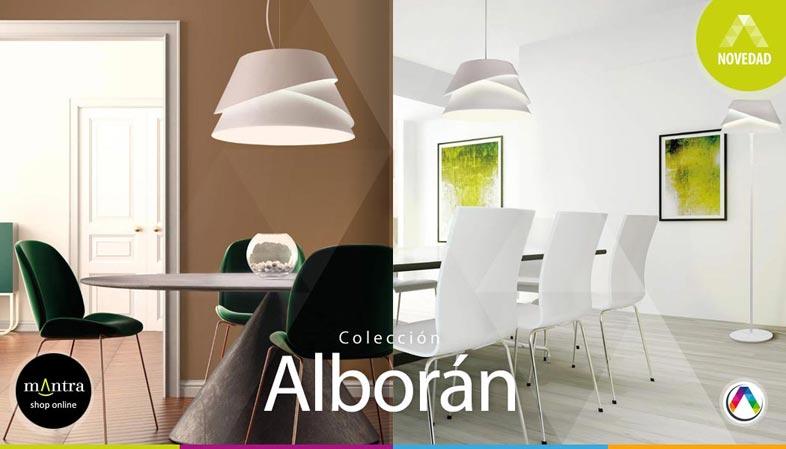 Top 5 Tendencias en iluminación interior con lámparas Mantra - Colección Alborán - La Casa de la Lámpara