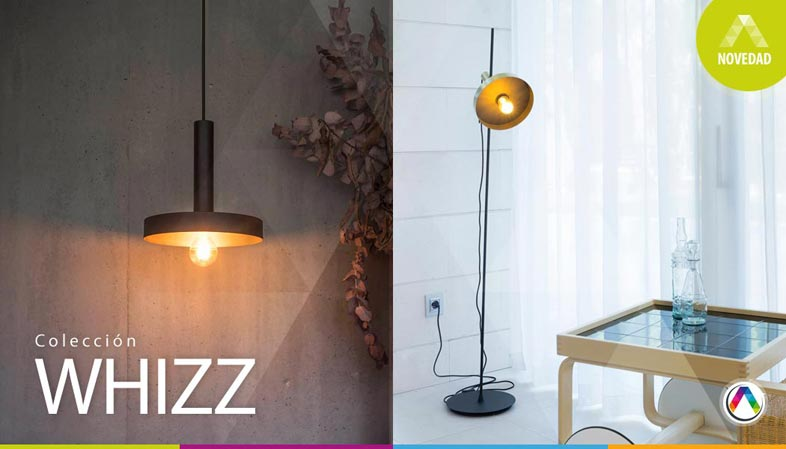 Top 5 Últimas novedades en lámparas de diseño Faro - Colección Whizz - La Casa de la Lámpara