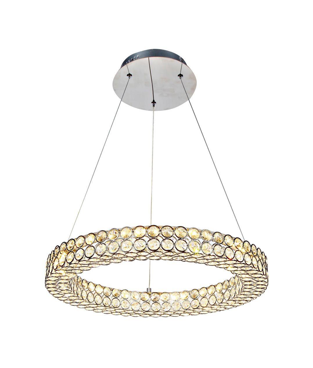 Lámpara colgante elegante pequeña CRYSTAL LED detalle