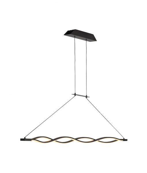 Lámpara colgante LED dimmable forja SAHARA