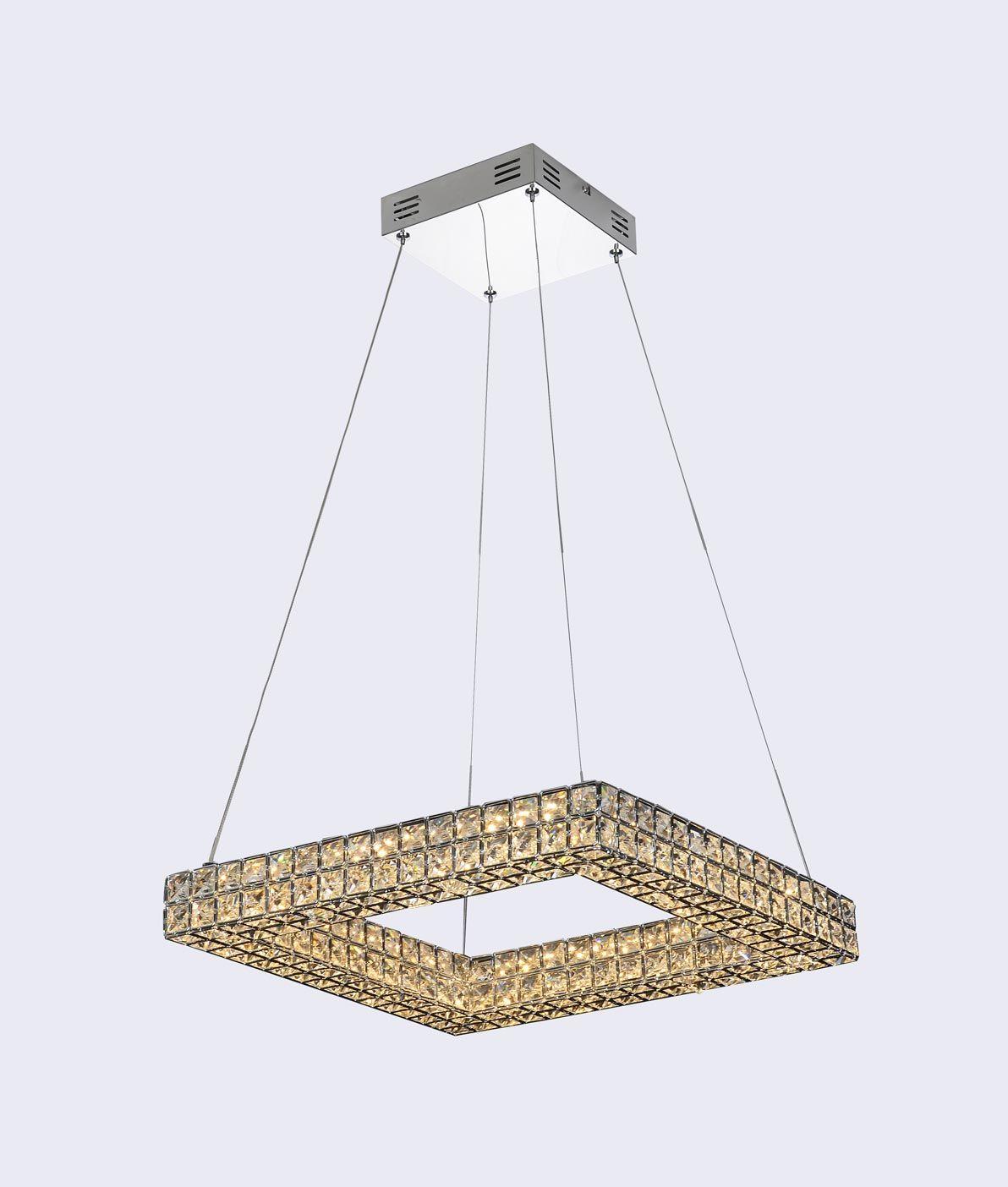 Lámpara colgante lujosa CRYSTAL LED detalle