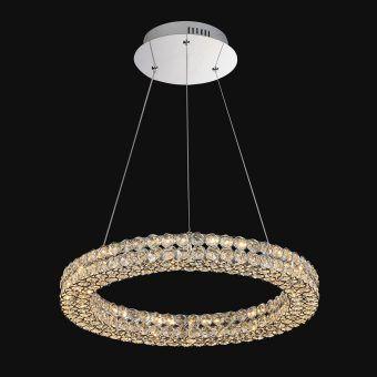 Lámpara de techo lujosa grande CRYSTAL LED