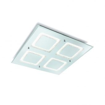 Lámpara plafón luz natural LED grande WINDOWS