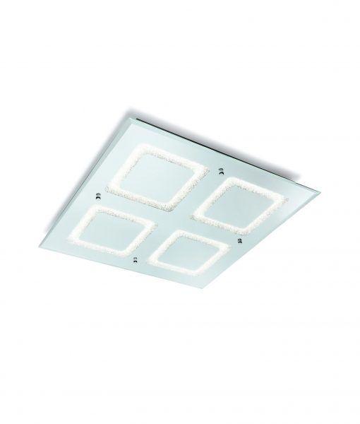 Lámpara plafón luz natural LED grande WINDOWS