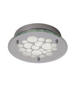 Plafón circular de cristal CORAL LED
