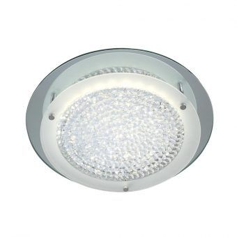 Plafón mediano CRYSTAL LED MIRROR