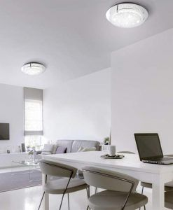 Plafón mediano CRYSTAL LED MIRROR ambiente