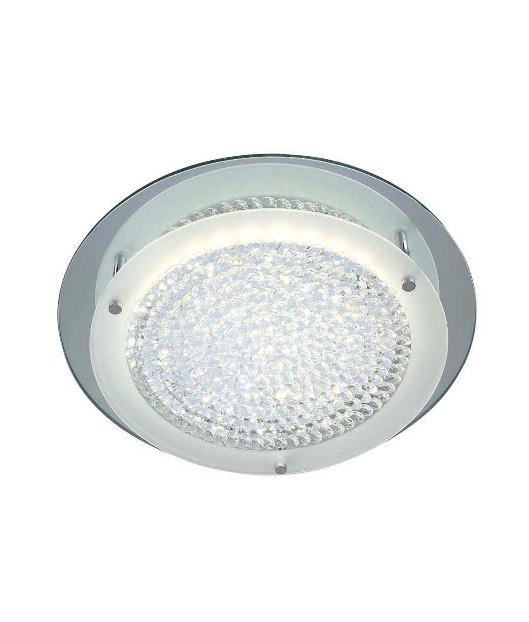 Plafón mediano CRYSTAL LED MIRROR