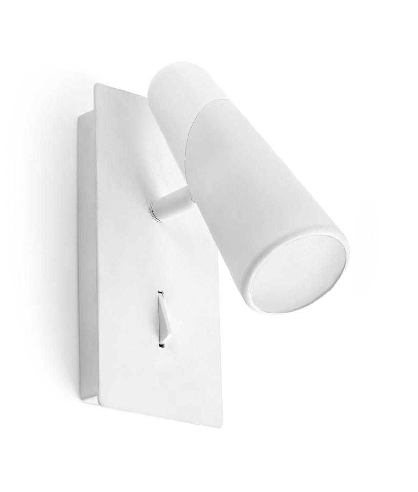 Aplique de diseño minimalista blanco LAO LED