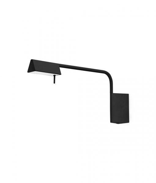Aplique dormitorio negro regulable ACADEMY LED