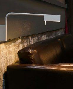 Aplique lámpara blanca ACADEMY LED ambiente
