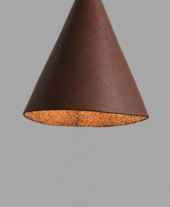 Colgante de techo marrón original FADA LED detalle