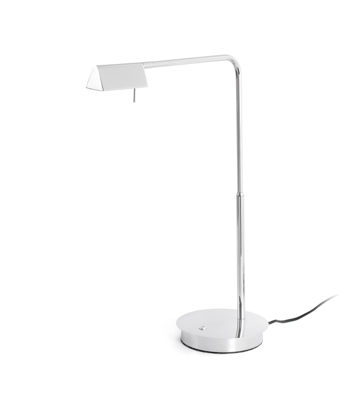 Lámpara de mesa regulable cromo ACADEMY LED
