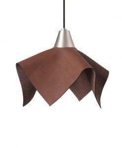 Lámpara de piel marrón FAUNA LED