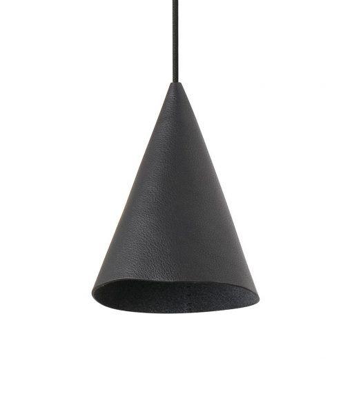 Lámpara de piel original negra FADA LED
