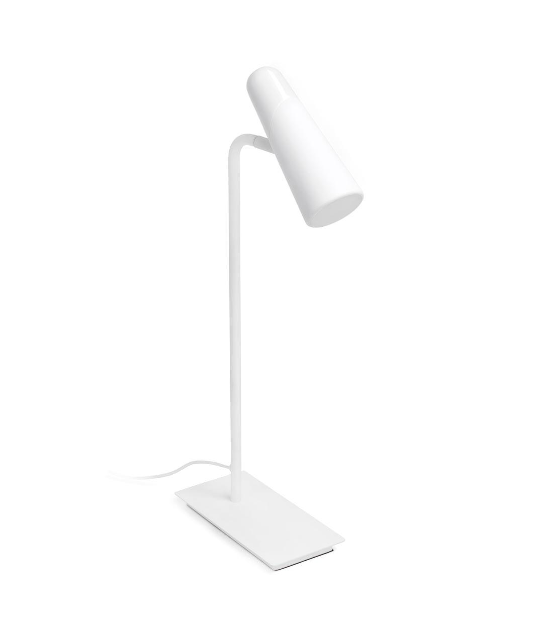 Lámpara mesa minimalista blanca LAO LED