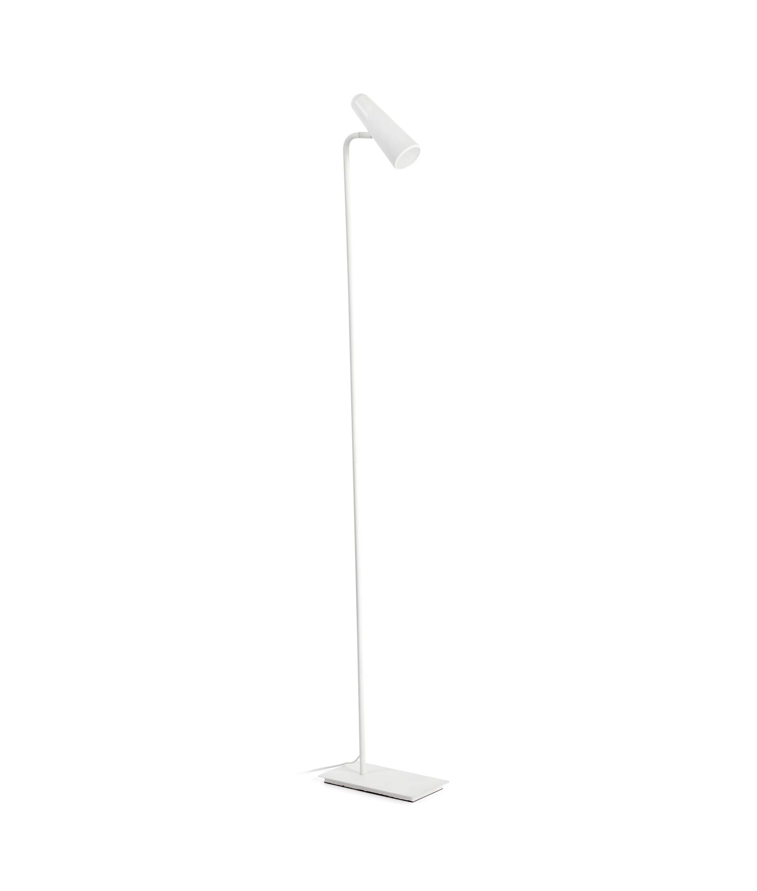Lámpara salón minimalista blanca LAO LED