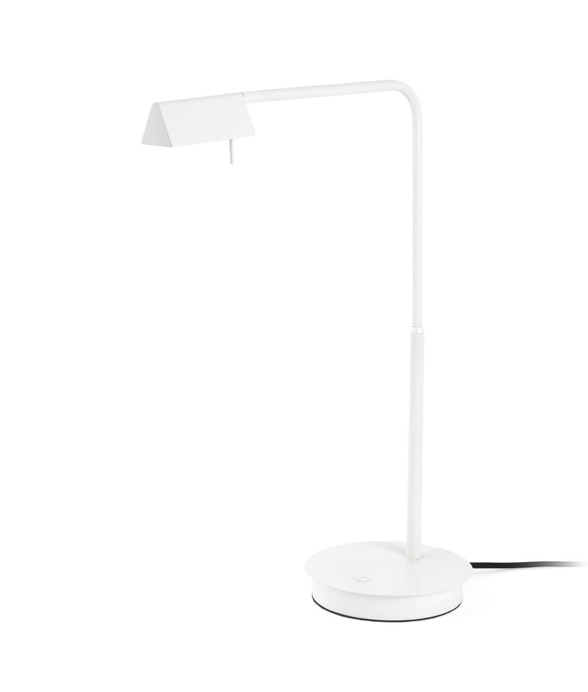 Lámpara sobremesa blanca ACADEMY LED