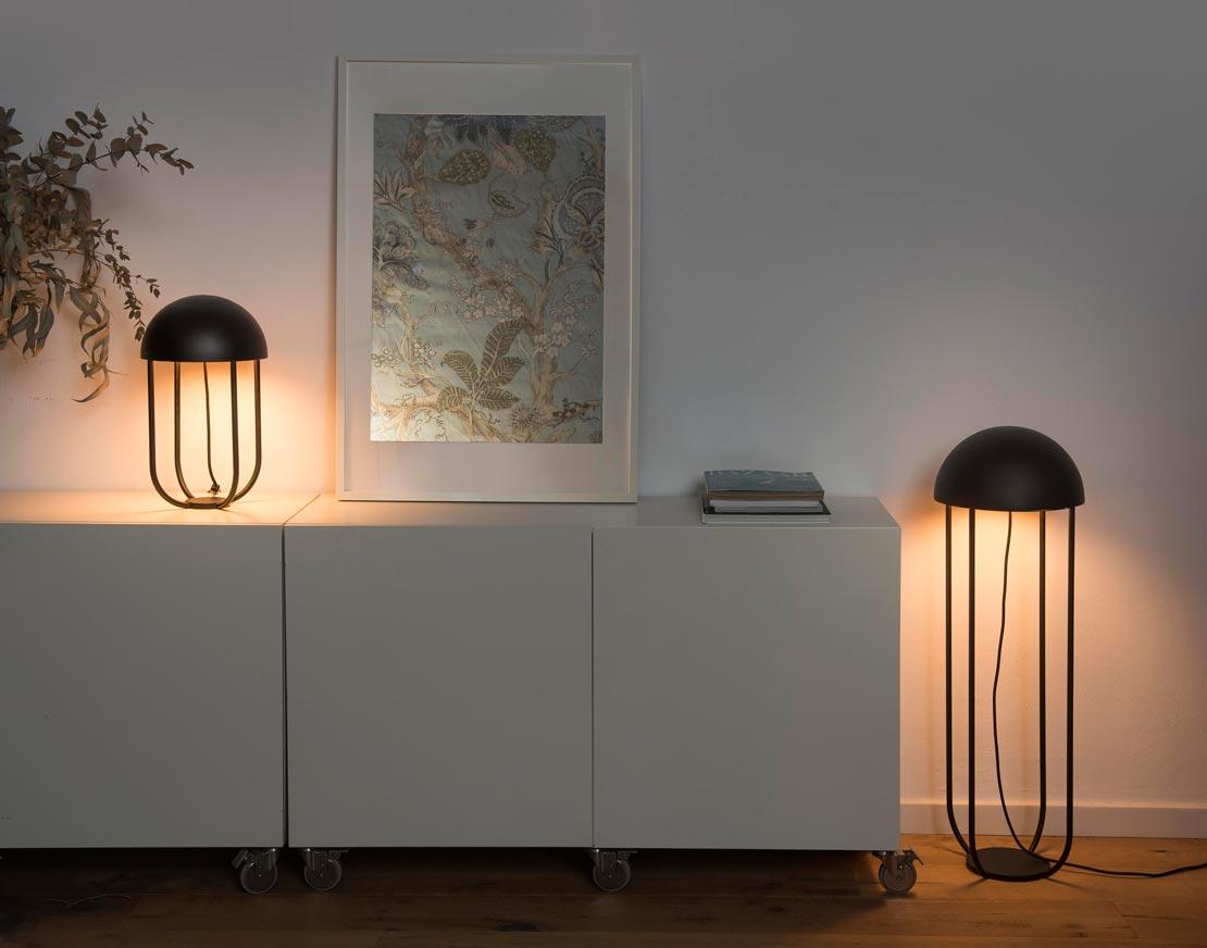 Lámpara sobremesa moderna JELLYFISH LED ambiente 3