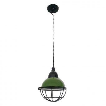 Lámpara verde de techo CLAIRE