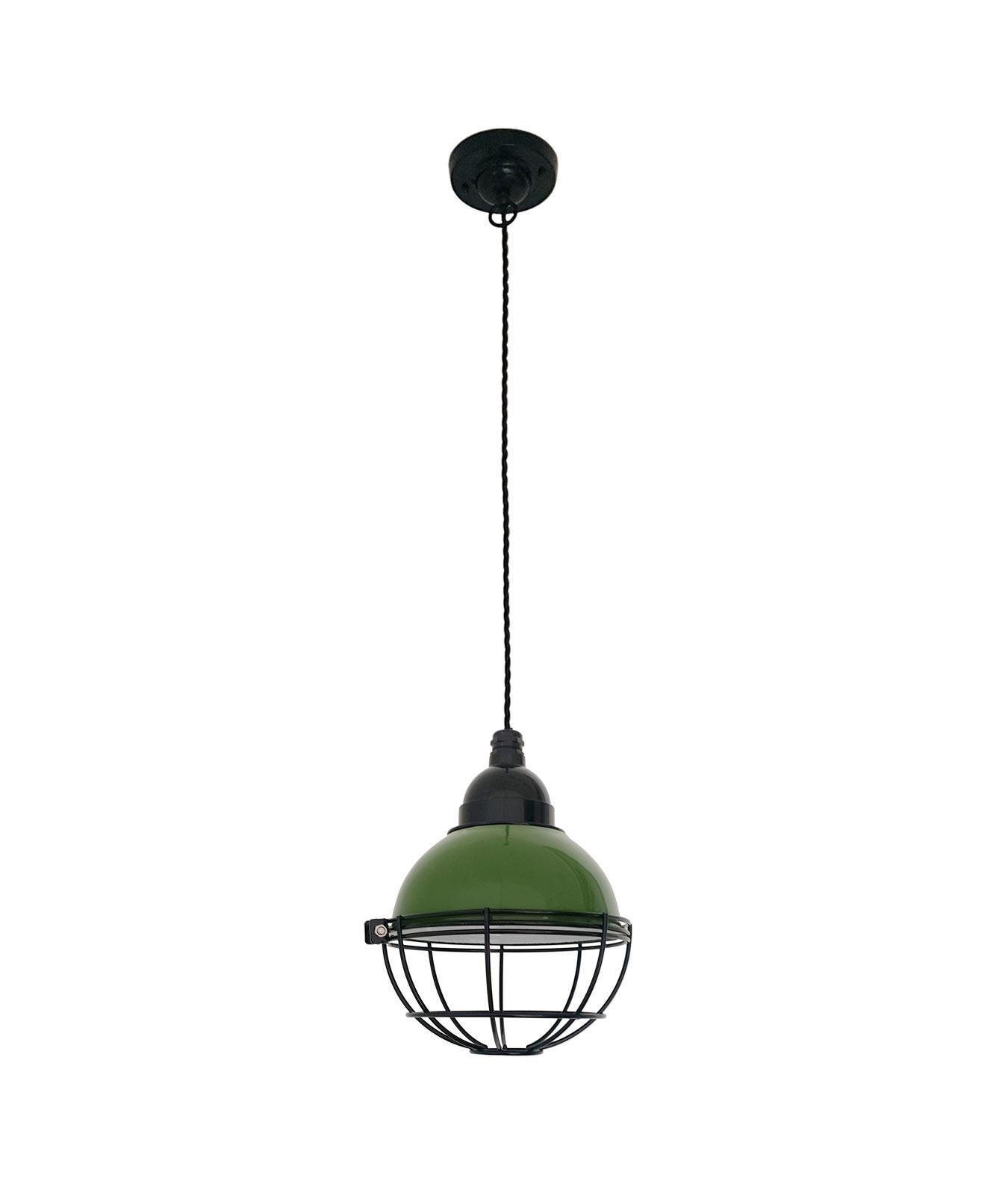 L mpara verde de techo claire la casa de la l mpara - Casa de las lamparas ...