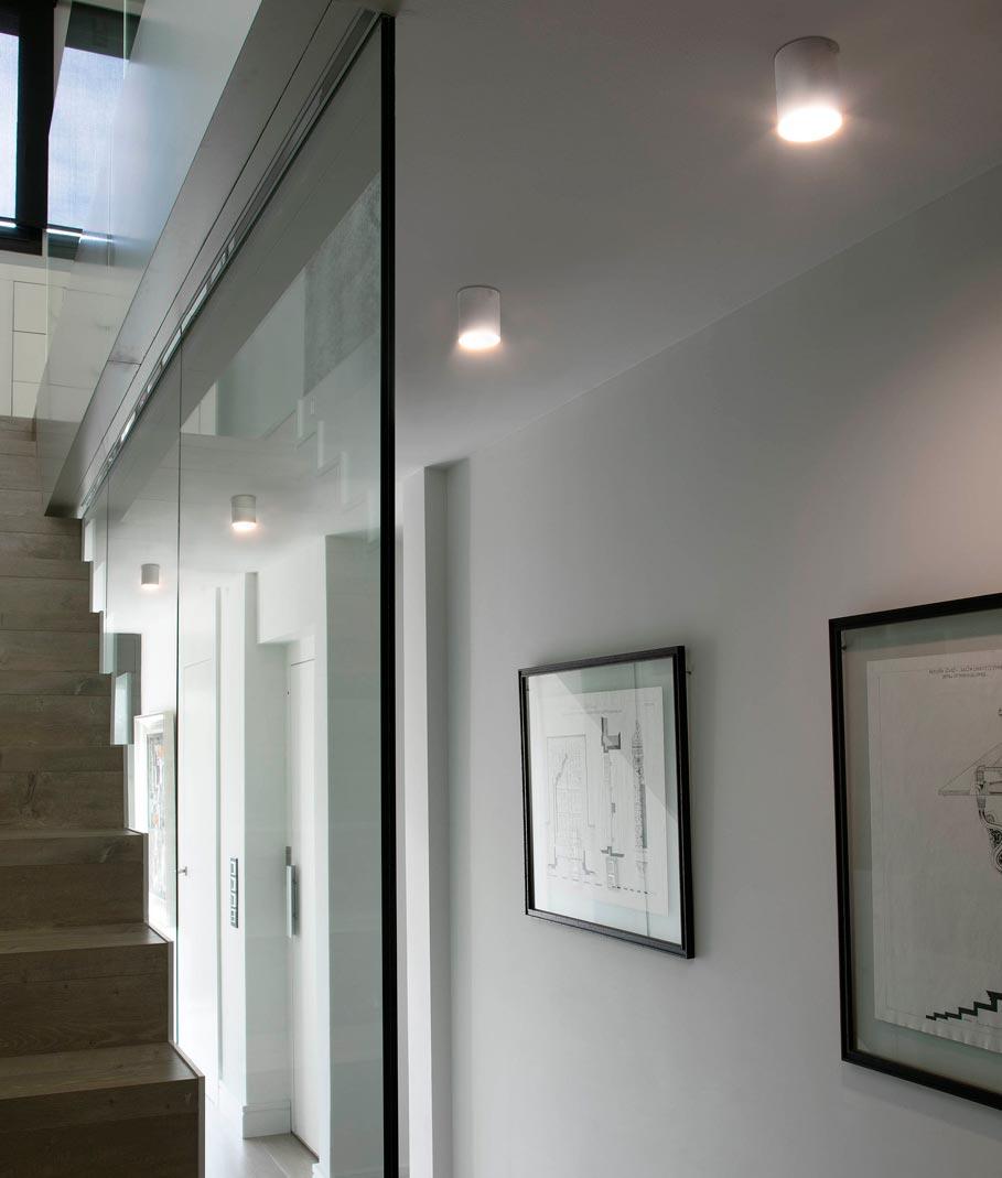 Plafón de techo blanco HARU LED ambiente