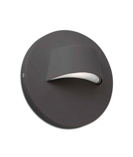 Aplique exterior gris BROW LED