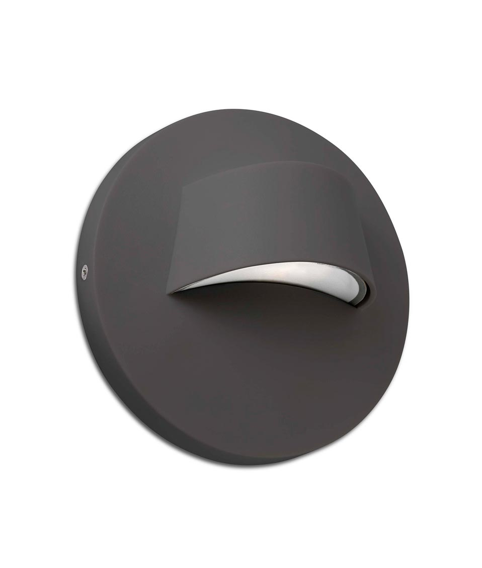 Aplique exterior gris BROW LED
