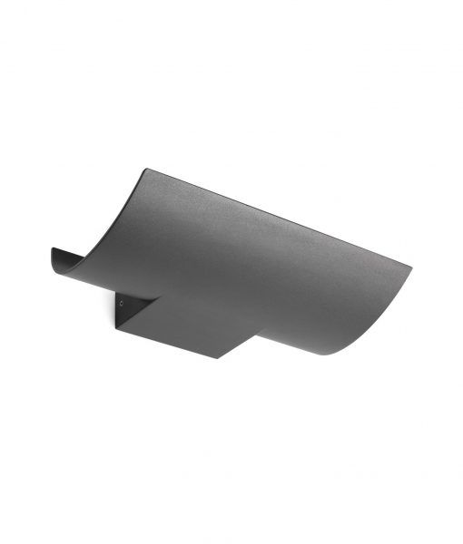 Aplique gris oscuro exterior KALA LED