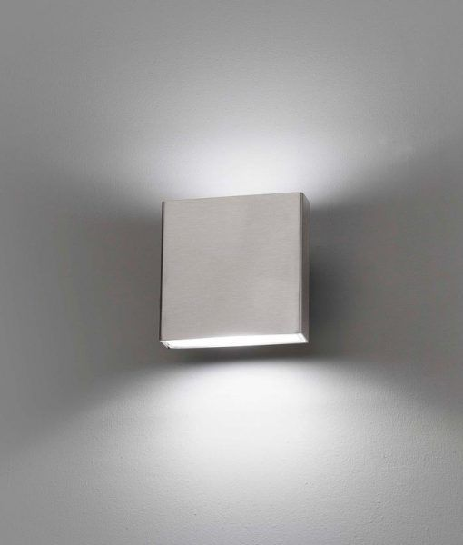 Aplique inoxidable exterior KAULA-1 LED detalle