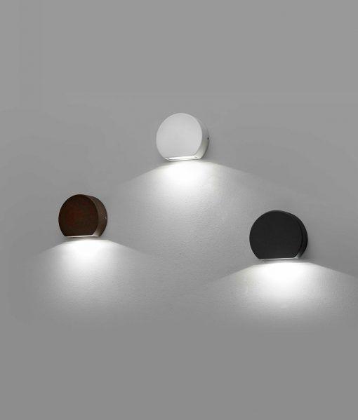 Apliques para terraza PILL LED detallles de luz