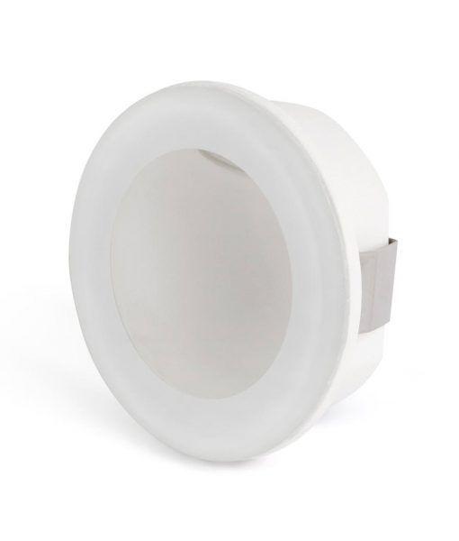 Empotrable circular blanco GALO LED