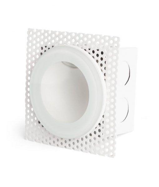 Empotrable circular blanco GALO LED detalle