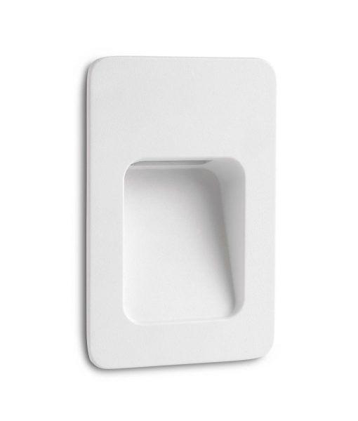 Empotrable de pared blanco NASE-2 LED