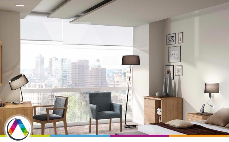 Iluminación habitaciones hoteles en La Casa de la Lámpara