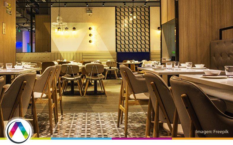Iluminación restaurante, cafetería y bar hoteles en La Casa de la Lámpara